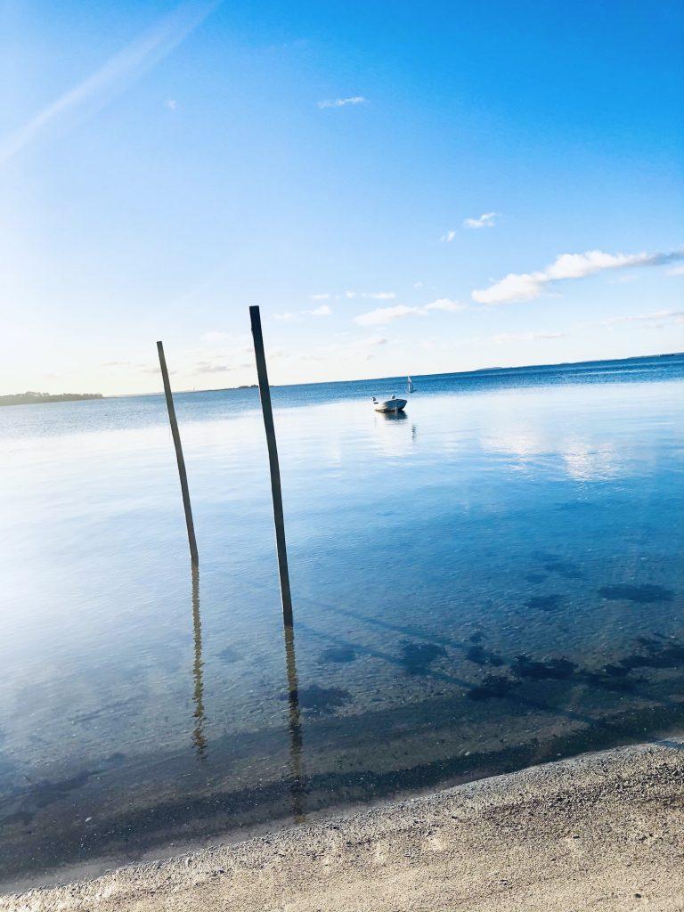 Vandring ved Sølager Havn i Nordsjælland